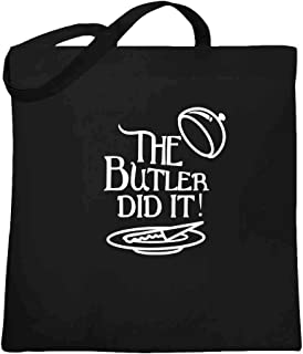 The Butler Did It Large Canvas Tote Bag Women