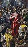 Kunstdruck/Poster: EL Greco Die Entkleidung Christi -