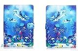 Cubierta Universal de Dibujos Animados para Alcatel ONETOUCH One Touch 1T 7 / Pixi 4 7.0 / Pixi 3 7.0 7 Pulgadas Tablet PU Funda de Cuero para niños-patrón 8