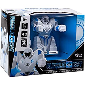 World Tech Toys Rumble Bot RC Fighting Robot, Multi - 51MNpCw FeL - World Tech Toys Rumble Bot RC Fighting Robot, Multi