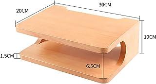 Los estantes flotantes Madera maciza, montado en la pared, for los componentes de televisión, montado en la pared consolas...