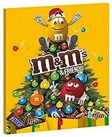 Calendrier de l'Avent M&M's & Friends contenant 24 surprises chocolatées Un condensé de plaisir et de gourmandise : TWIX, SNICKERS, MARS, BOUNTY, MILKY WAY,et M&M's réunis dans un Calendrier de l'avent. M&M's est l'une des plus célèbres marques de co...