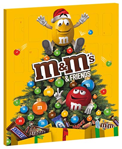 M&M's & Friends Calendario de Adviento, 361g