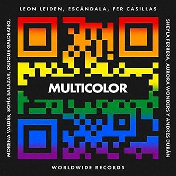 Multicolor (feat. Andres Durán, Aurora Wonders, Morená Valdes, Quique Galdeano, Sheyla Ferrera & Sofía Salazar)