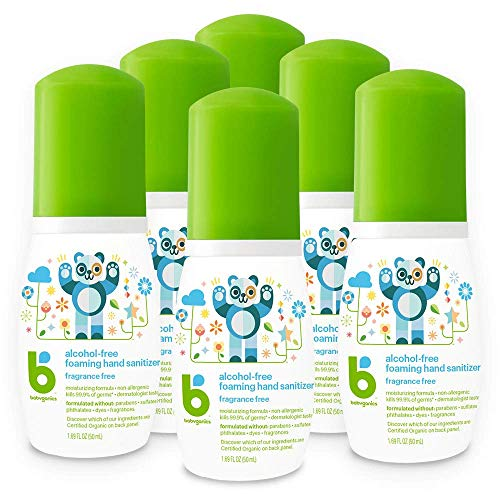 Babyganics Foaming Hand Sanitizer 6PK In Stock Online