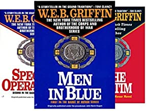 Griffin's 13-book BADGE OF HONOR Series -- Men in Blue / Special Operations / Victim / Witness / Assassin / Murders / Inve...