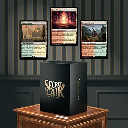 Magic: The Gathering Secret Lair: MTG Dr Lairs Secretorium Culture Shocks Naya