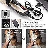 Zoom IMG-1 yabife tosatrici cani professionale cordless