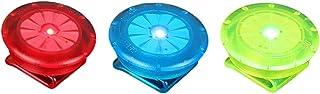 LIOOBO LED Sicherheitslicht Clip für Läufer Hunde Fahrräder Kinderwagen 3 Stück Rot Blau und Grün