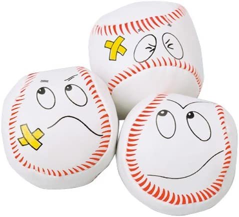 DollarItemDirect Baseball Kickballs, Sold by 7 Dozens