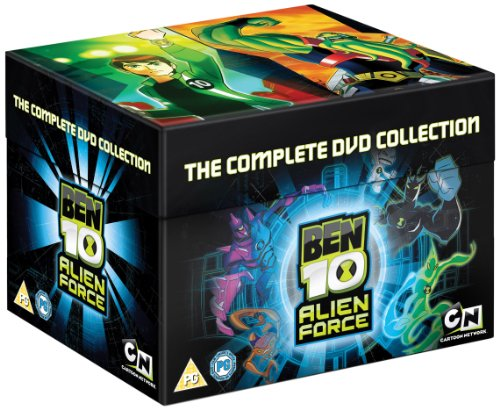 Ben 10 - Alien Force - Complete Box Set [9 DVDs] [UK Import]