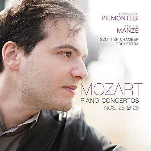 Mozart: Conc.Piano 25 Y 26 / Piemontesi