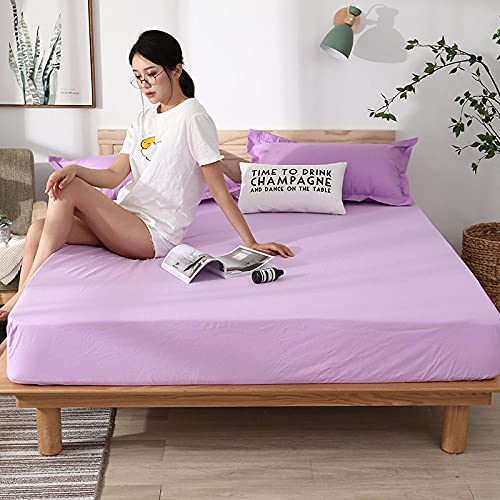 CYYyang colchón Acolchado, antialérgico antiácaros, Sábana Impermeable de un Solo Producto Hotel-1_180cm × 220cm