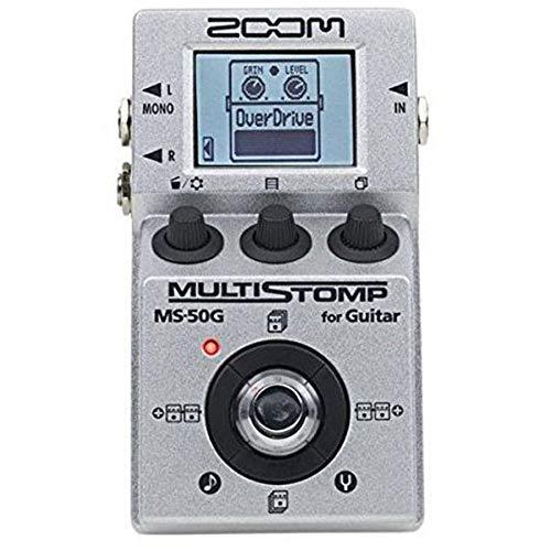 Zoom Zoom MS50G MultiStomp Guitar Pedal Tappo per orecchie 6 Centimeters Nero (Black)
