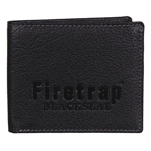 Firetrap Blackseal Portafoglio Nero Taglia unica