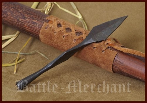 Battle-Merchant Histórica punta de flecha J – flecha y arco largo arco
