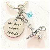 Let Your Heart Decide Aladdin and Jasmine Inspired Keychain Accessories Gift of Magical True Love