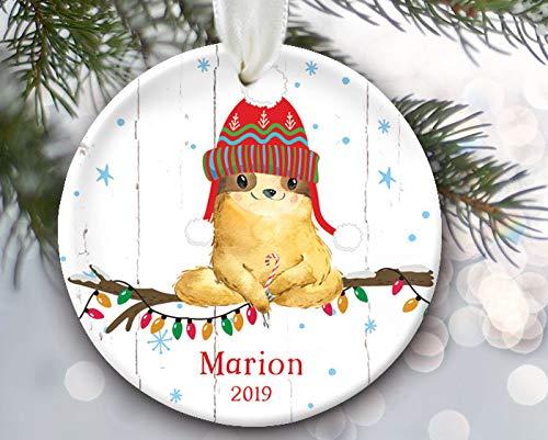Alicert5II luier-gepersonaliseerde kerstversiering luier kerstversiering valdier kerstvaldier geschenk versiering voor hem of haar OR878