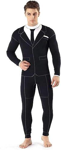 Costume de combinaison siamois de style d'hommes de néoprène de 3mm, prougeection arrière de prougeection solaire de fermeture éclair de cordon de fermeture éclair de cordon, for la natation   plongée en