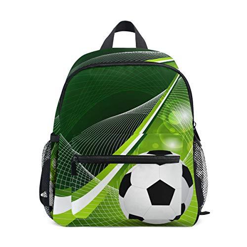 CPYang Kinder Rucksack Sport Fußball Schule Tasche Kindergarten Kleinkind Vorschule Rucksack für Jungen Mädchen Kinder