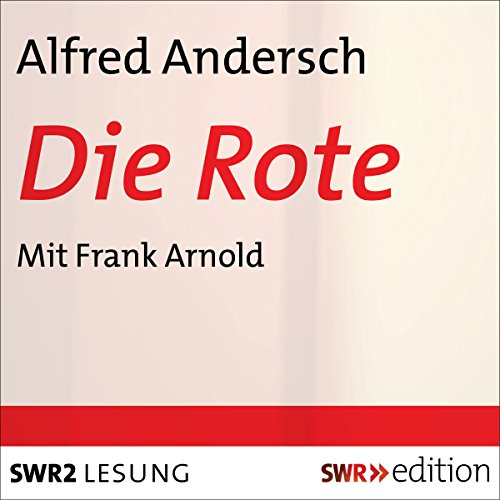 Die Rote audiobook cover art