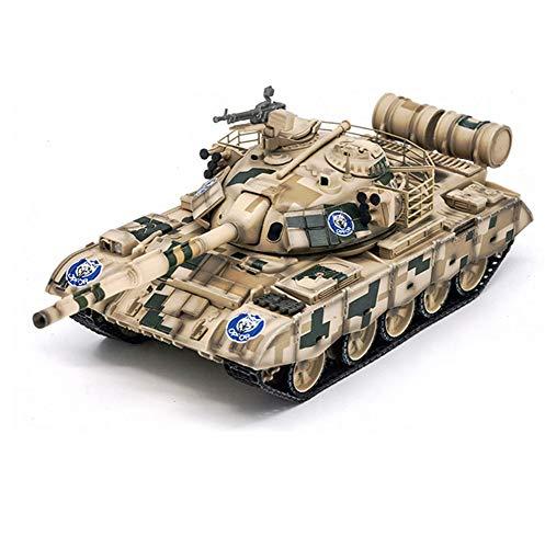 CMO Maqueta Tanque de Guerra, ZTZ-59D MBT Camuflaje Digital Ejército Chino Metal Militares Escala 1/72, Juguetes y Regalos, 5.1Inch X 1.8Inch