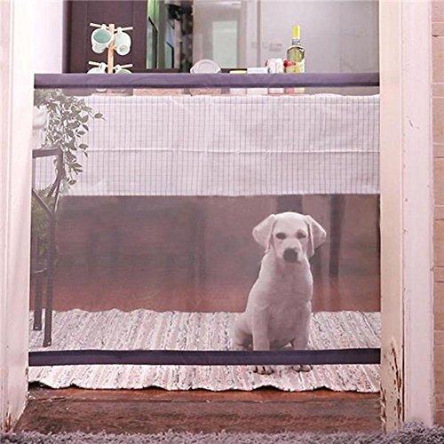 Tragbarer Zaun für Haustiere von Lembeauty, isoliert, Sicherheitsnetz für Hunde, Katzen, 180 x 72 cm