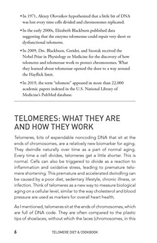 51MO+mR6iqL - The Telomere Diet and Cookbook: A Scientific Approach to Slow Your Genetic Aging and Live a Longer, Healthier Life