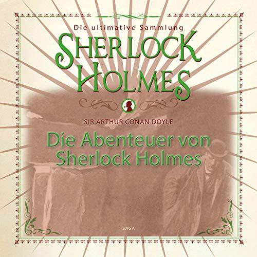 Couverture de Die Abenteuer von Sherlock Holmes