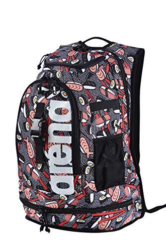 arena Unisex Schwimmrucksack Rucksack für Schwimmer Fastpack 2.2 Allover 002487, Farbe:Mehrfarbig, Artikel:-111 Sushi