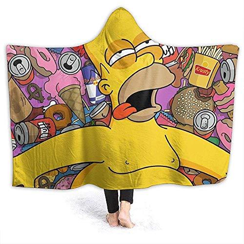 Nat Abra Die Simpsons Decke Fleece Decke Print Tragbare Decke Für Erwachsene Kinder