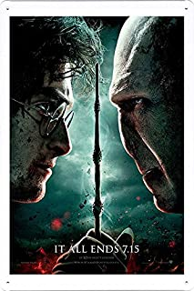 deathly hallows part 2 poster