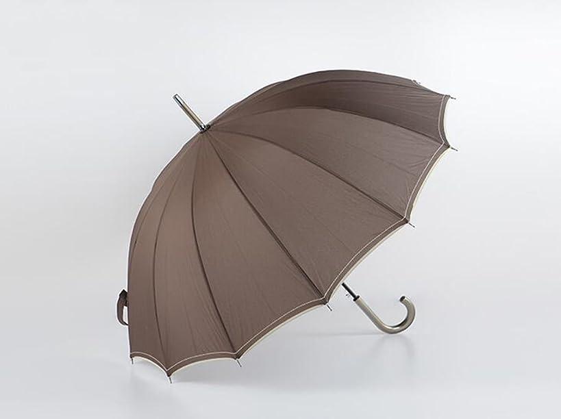 遷移アトラスバック耐候性のある傘を増やすための14の骨の男性のビジネス傘長いハンドルフックフック太陽傘 ズトイビー (Color : #2)