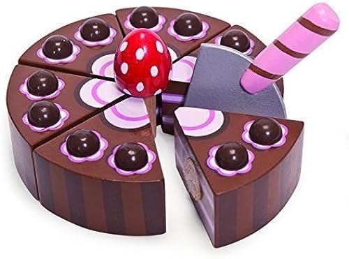 Honeybake Le Toy Van - 12277 - Jeu d'imitation - G au d'anniversaire - Chocolat by