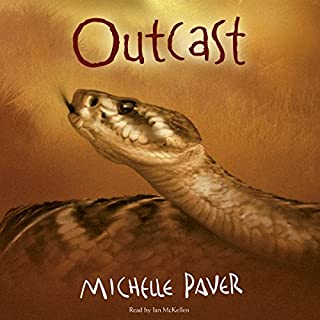 Outcast     Chronicles of Ancient Darkness, Book 4              By:                                                                                                                                 Michelle Paver                               Narrated by:                                                                                                                                 Ian McKellen                      Length: 7 hrs and 34 mins     216 ratings     Overall 4.8