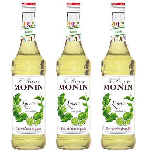 Monin Sirup Limette, 0,7L 3er Pack
