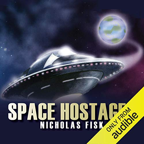 The Space Hostages audiobook cover art
