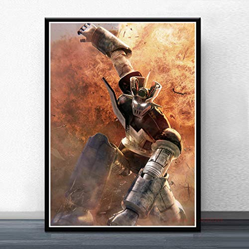 koushuiwa Poster Art Print Wall Posters Mazinger Z Infinity Manga Anime Wall Art Picture Canvas Painting Ac2972 Unframed 50X70Cm