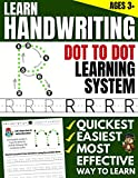 Learn Handwriting: Dot to Dot Practice Print book (Trace Letters Of The Alphabet and Sight Words)