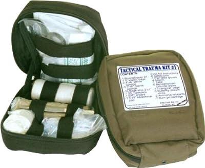 5ive Star Gear First Aid Trauma Kit, Olive Drab