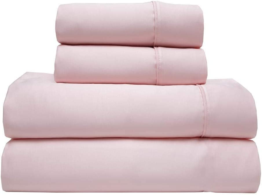 Elite Home Cheap 2021 spring and summer new super special price T350 Bamboo Sheet Queen Set Blush