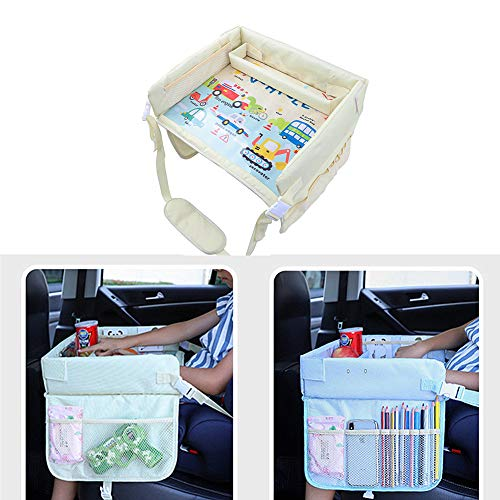wersdf Car Travel Tray For Children Snack And Play Travel...