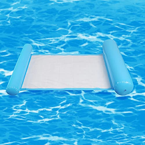JeromKewin, amaca gonfiabile galleggiante per piscina, spiaggia, per adulti Blue