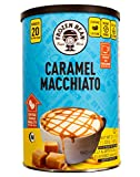 Frozen Bean, Caramel Macchiato Deluxe Frappe Coffee Mix, 21 oz