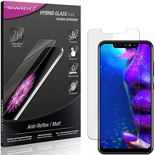 SWIDO Panzerglas Schutzfolie kompatibel mit Allview Soul X5 Bildschirmschutz Folie & Glas = biegsames HYBRIDGLAS, splitterfrei, MATT, Anti-Reflex - entspiegelnd