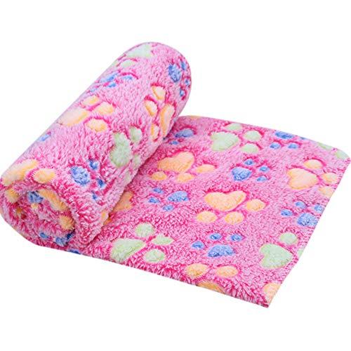 95sCloud Hundehandtuch Mikrofaser Hundebademantel Schnell Trocknend Hund Bademantel Handtuch Hunde Bademantel sind leicht, schnell trocknend und super saugfähig Haustiermatte 60x40cm (Pink)