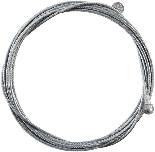 Jagwire–Cable de Freno Carretera y montaña–Basics galvanizado–1.6x 2000mm–SRAM/Shimano MTB & Road 92rg2000Unisex, Gris