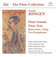 Music for Flute by J. Jongen (2002-08-02)