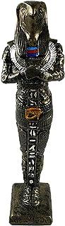 الملك الفرعوني حورس - صناعة يدوية مصرية من البورسيلين - فضي