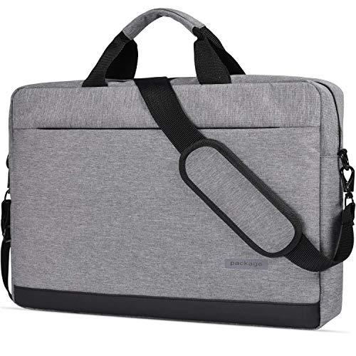 dealcase Laptoptasche für 39,6 cm (15,6 Zoll) Acer Aspire E 15 / Acer Predator Helios 300 / Lenovo ASUS Dell HP 39,6 cm (15,6 Zoll) Laptoptasche, (Grau 2), 17-17.3 inch